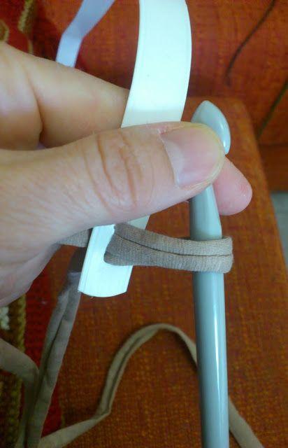 tamknitting: Tutorial Asas para bolsos trapillo