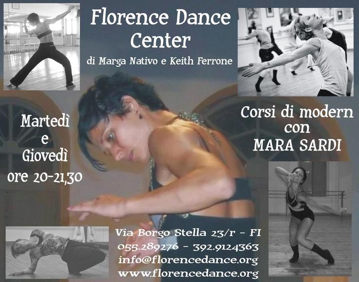 Florence Dance Center  Corso di Modern  Mara Sardi