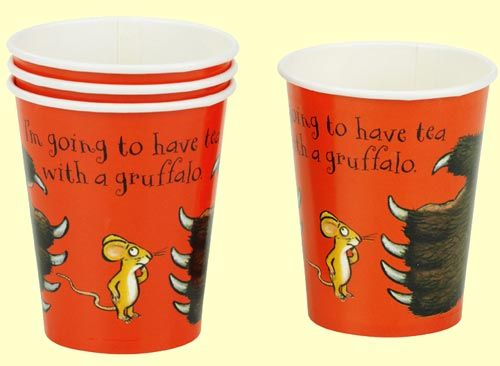 Gruffalo Party Cups