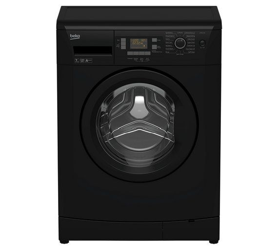Buy Beko WMB71343B 7KG 1300 Spin Washing Machine - Black at Argos.co.uk - Your Online Shop for Washing machines, Large kitchen appliances, Home and garden.