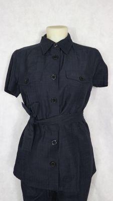Max Mara Week end - completo/tailleur con camicia con fascia e pantaloni