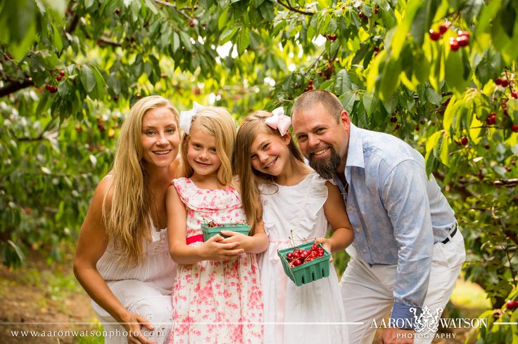 This month we are offering an awesome special for family and senior portraits at Spring Valley Orchard in honor of cherry picking season! Since we love cherries so much, we are giving away $25 gift cards to Chiles Peach Orchard (part of the Spring Valley Orchard family), when booking your family portrait session! They're only open until June 25th, so be sure to book soon! 434.202.8031 or info@aaronwatson.com. Images Copyright of Aaron Watson Photography (please do not remove when re-pinning)