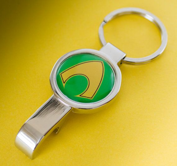 Cool Aquaman Bottle Opener Keyring by UnofficiallyOriginal on Etsy