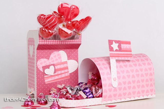 How to Assemble the Lettering Delights Valentine Mail Drop Box | Under A Cherry Tree