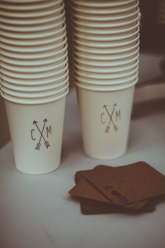 Cut down on costs with paper cups, customized with your logo