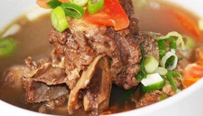 Resep Sop Iga Sapi - Sop iga sapi ini adalah salah satu masakan berbahan sapi yang sangat lezat.