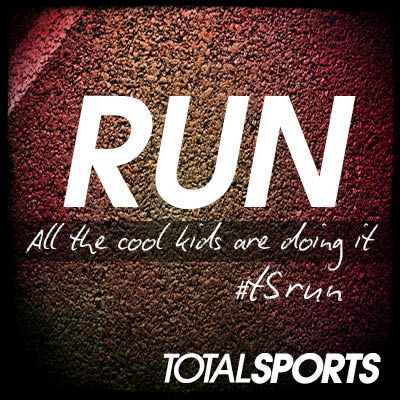 Running. All the cool kids are doing it. #TSrun