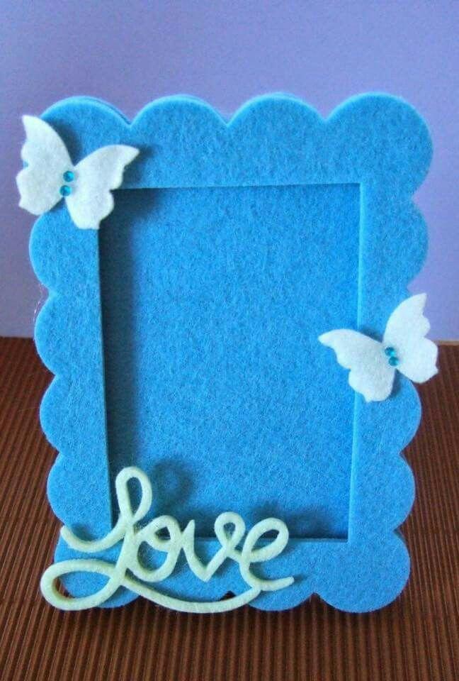 Porta retrato baby azul
