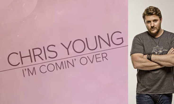 "Chris Young's Runnin' All The Red Lights in ""I'm Comin' Over"" Chris'strong, soulful voice is about to be back all over your radio with the release of his brand new single, ""I'm Comin' Over."" The new tune, which Chris co-wrote with Corey Crowder and Josh Hoge, is the tried-and-true tale of desperately trying to get someone off of your mind. The mid-tempo jam will have you rooting for Chris to get the girl– mainly because of that voice and the lyrics, ""To hell with the closure, save it for…"