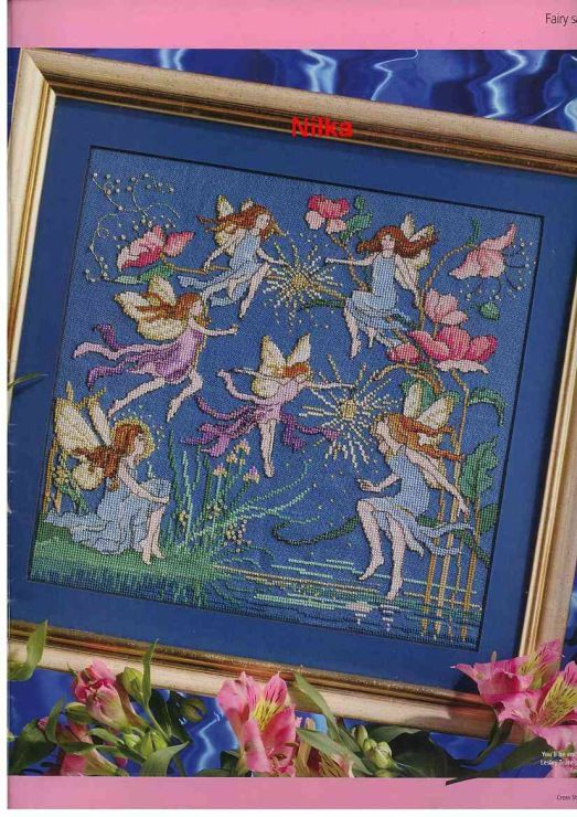 535 Best Images About Cross Stitch Fairies On Pinterest