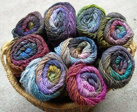 Noro silk garden yarn - love this yarn