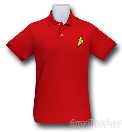 Star Trek Security Uniform Polo Shirt