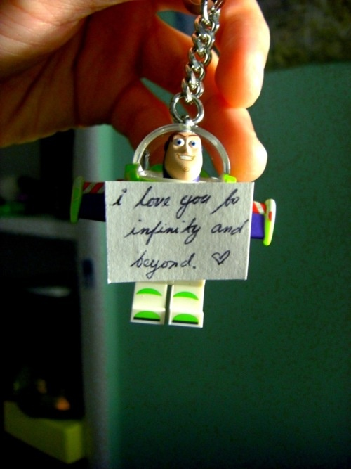 To infinity and beyond. <3