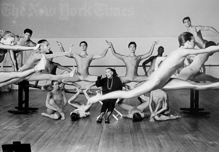 Martha Graham (Марта Грэм) танцовщица, хореограф