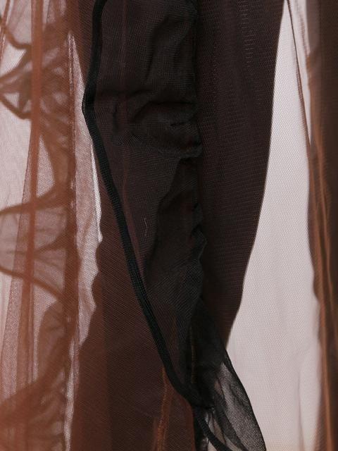 Купить Toga длинная юбка из тюля с высокой талией.