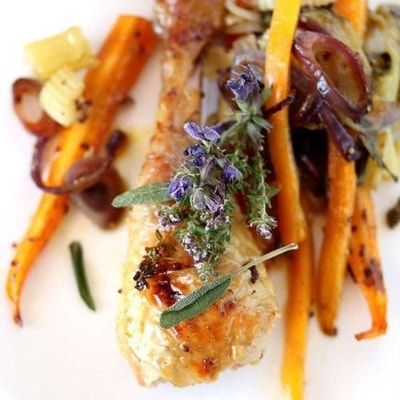 Cuisses de poulet fermier au four : 40 recettes légères pour le dîner - Journal…