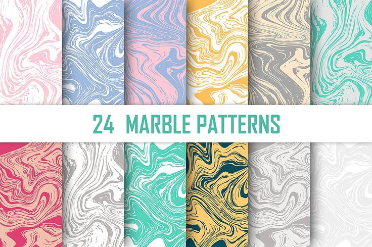 24 Marble Vector Patterns by Tory Design on @creativemarket