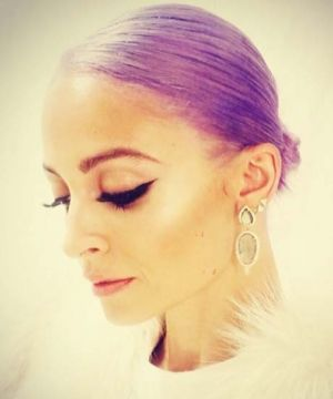 Nicole Richie's Purple Hair — It's Real This Time!