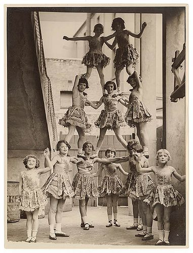 Child performers, Sydney Showground, c. 1920s-30s