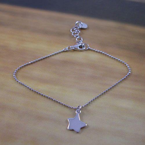 Silver Star Bracelet.  Zilveren Ster Armbandje.