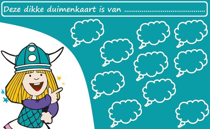 Wickie de Viking - Website of dikkeduimenkaarten!