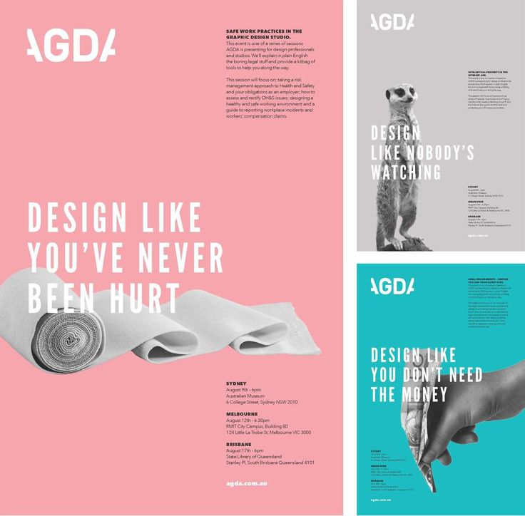 AGDA Legal Seminar Poster Series - Marie MacGregor Portfolio - The Loop