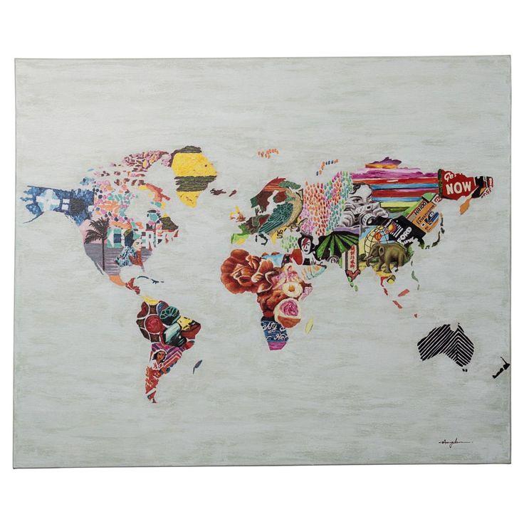 Bild World Story, handgemalt, Ethno-Look, ca. 100 x 120 cm Jetzt bestellen unter: https://moebel.ladendirekt.de/dekoration/bilder-und-rahmen/bilder/?uid=dc5352bb-17a5-5e85-9fa0-f6df9582fe81&utm_source=pinterest&utm_medium=pin&utm_campaign=boards #bilder #rahmen #dekoration