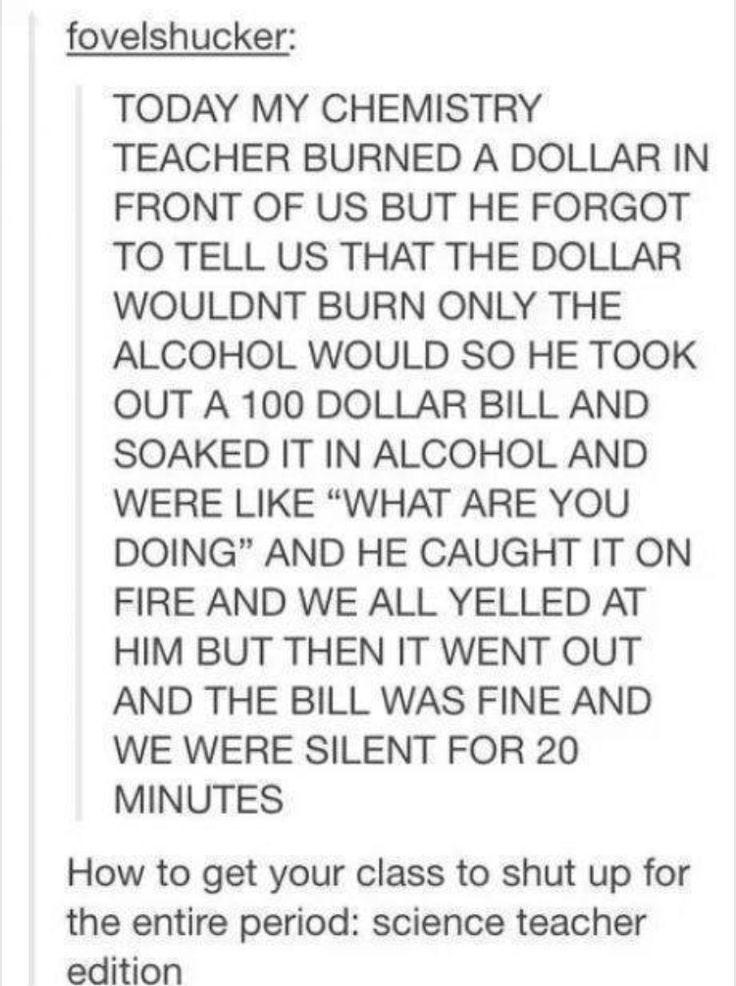 How a teacher pranks their students