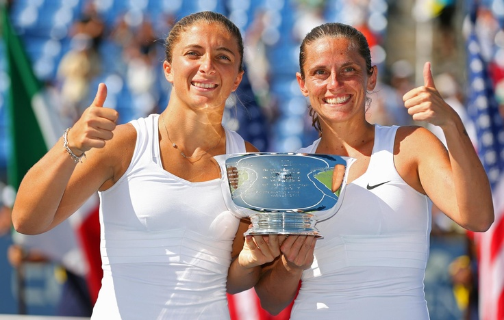 Congratulations to Sara Errani & Roberta Vinci for winning the US Open Tennis Championships doubles title!