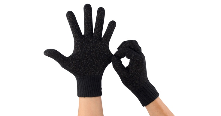 AEGLO Premium touch gloves | Black