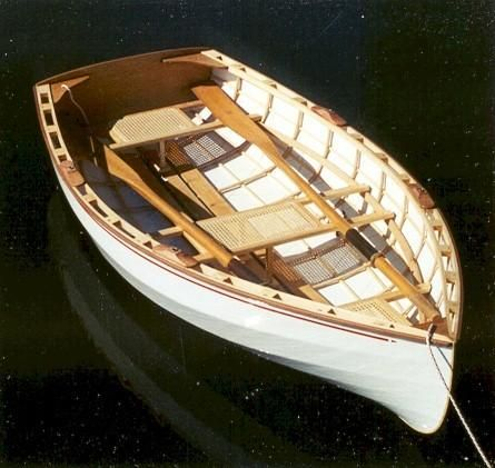 Westport Dinghy 8 With Monokote Finish Wooden Boat