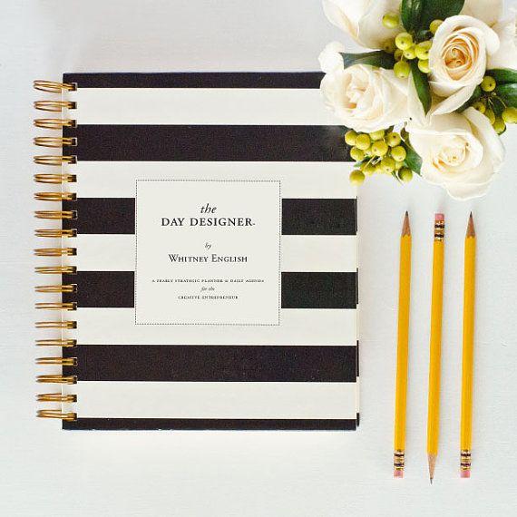 OVERPRINT Undated Blank Day Designer  A Yearly by whitneyenglish, $45.00  Best MKH Communications purchase ever <3  Love Love Love The Day Designer...