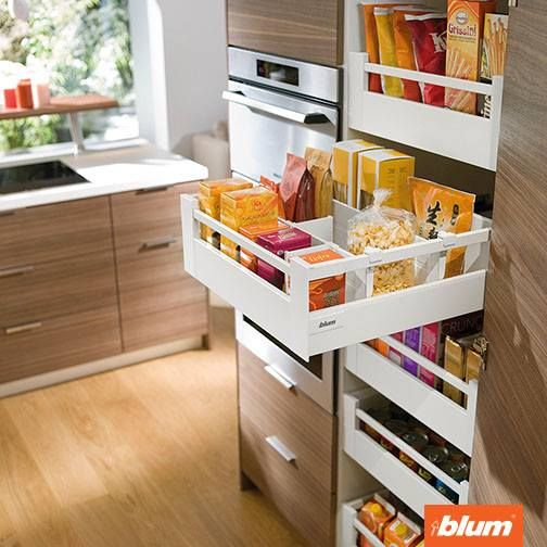 The Range Of Organisation System From Blum Will Offer A Neater Interior For  All Your Drawers · Kitchen PantriesStorage ...