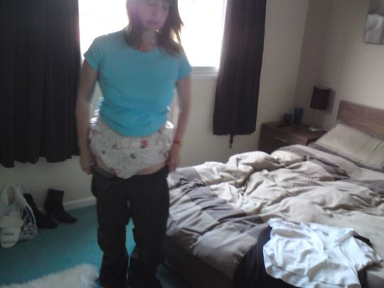 Diapered domination 24 7 baby treatment