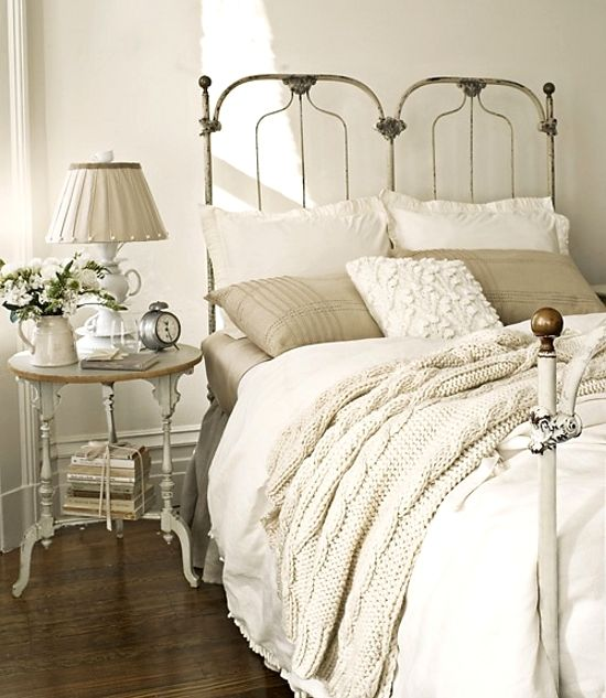 neutrals-I want to jump in this bed.