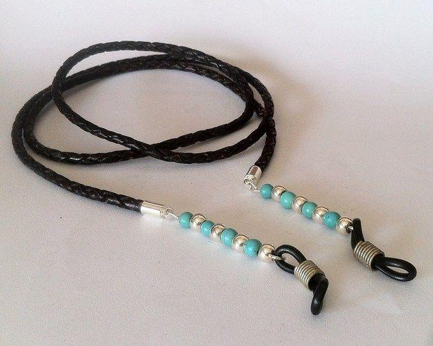 Gafas - Cordón para gafas - hecho a mano por hituk en DaWanda