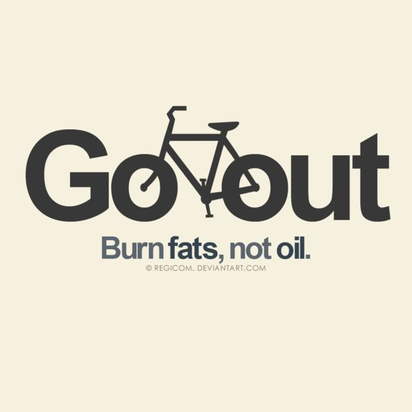 Go out, burn fats by JereekEspiritu.deviantart.com    Suggested by $draweverywhere