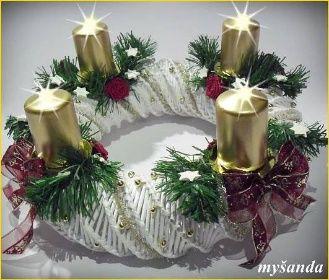 moje tvořeníčko - Fotoalbum - PLETENÍ Z PAPÍRU 2011 - vánoční pletení z papíru 2011 - aCIMG3870