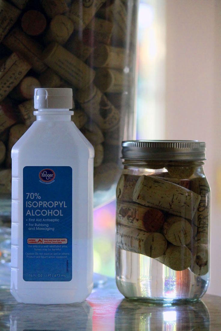 Got Wine Corks? Repurpose into Firestarters, just soak in alcohol.