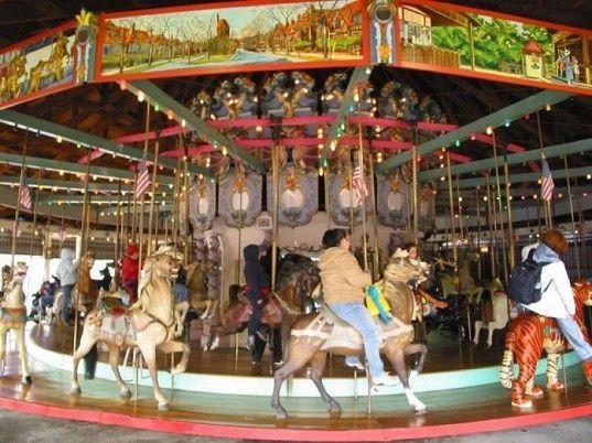 historic carousels