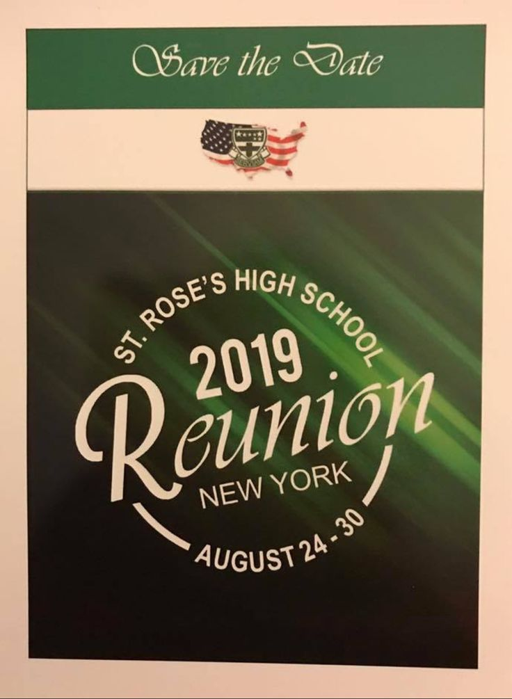 St Roses High School Reunion for 2019 to be held in New York