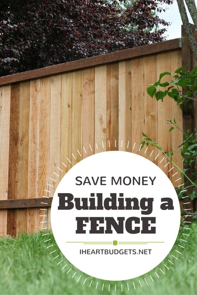 Is your fence old, broken and busted? Ours was, and we successfully installed over 350ft. of new fence ourselves! Here are my top savings tips learned from building our new fence around our 1/4 acre backyard. For those planning to do-it-yourself, read this! #savemoney #diy