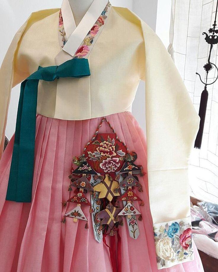 구미에서 오신 신부님의 한복💚 #풍경한복 #맞춤한복 #신랑신부한복