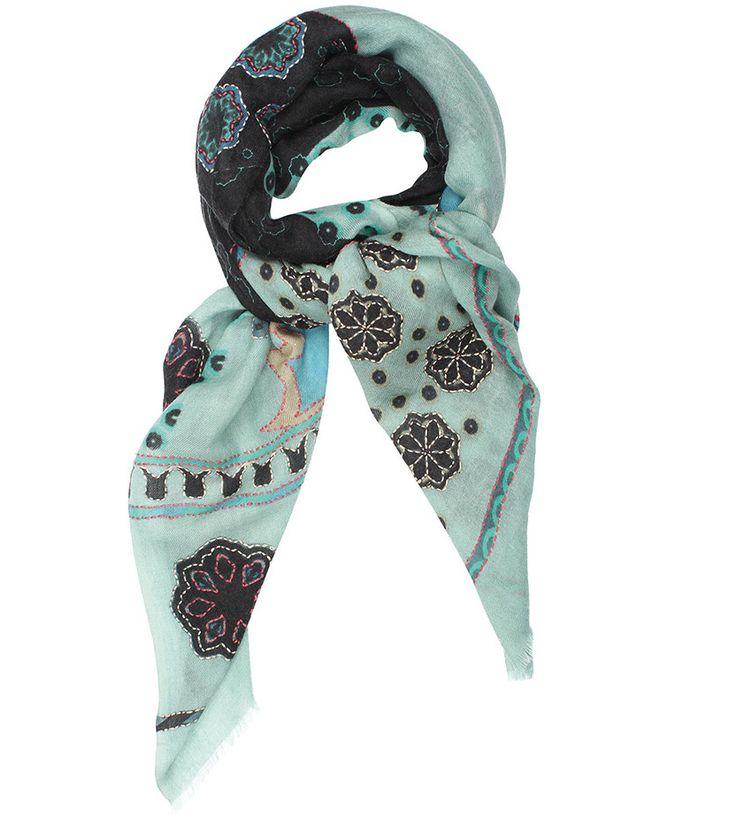 2-15FLORINE CIEL - VDMD Foulards et accessoires de mode