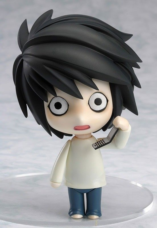 Figure Nendoroid di L da Death Note! NUOVO, alto 10 cm ...