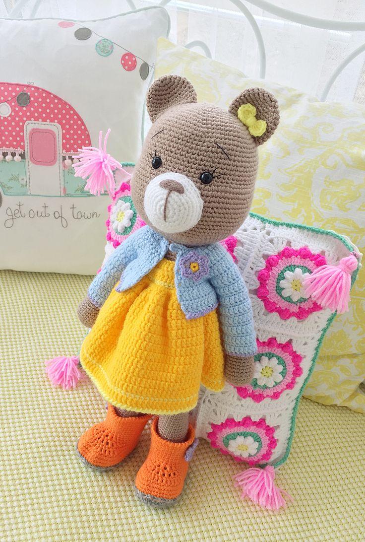 659 besten Teddy - Amigurumi Bilder auf Pinterest | Amigurumi, Bären ...