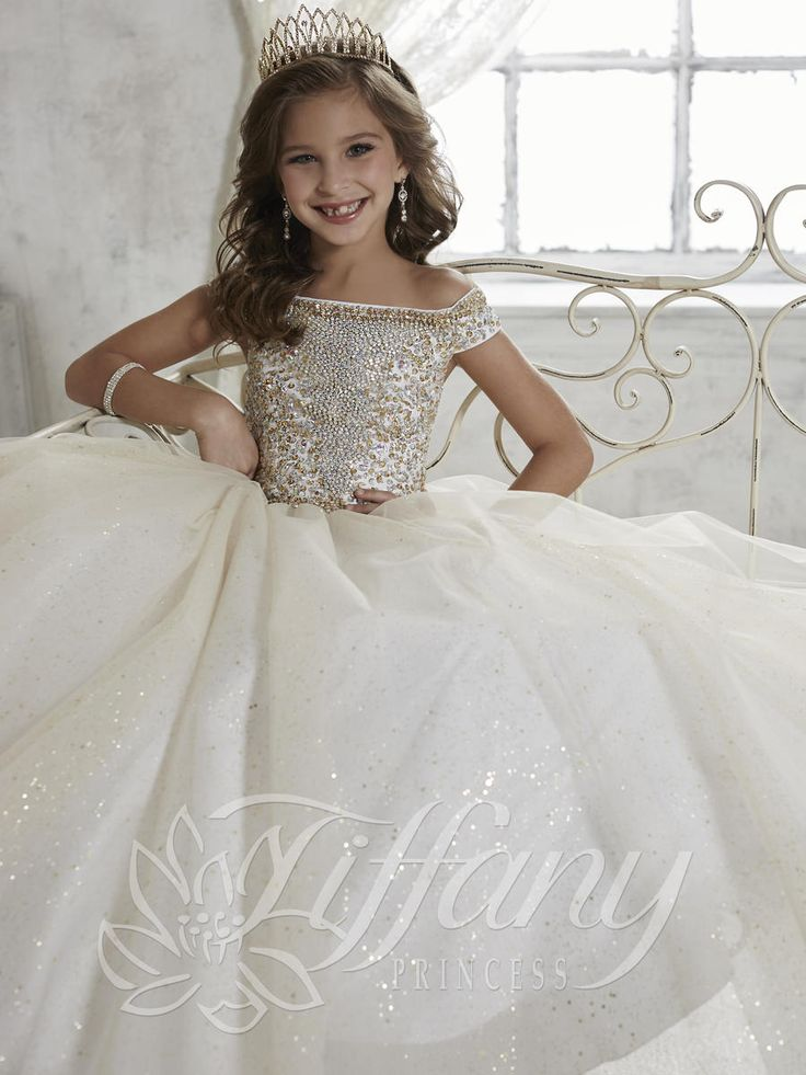 Simple Princess Style Dresses For Girls 3