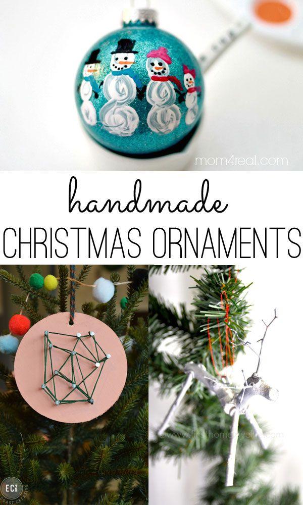 50 handmade Christmas ornament ideas