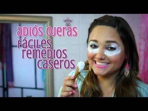 Adiós Ojeras: Fáciles Remedios Caseros / Say Goodbye to Dark Circles : Belleza por Menos - Gabytips - YouTube
