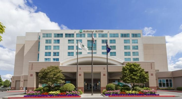 Embassy Suites Portland - Airport Portland Ideally situated at the entrance of Portland International Airport, this hotel in Portland, Oregon offers convenient services in a prime location near the Columbia River Gorge recreation area.